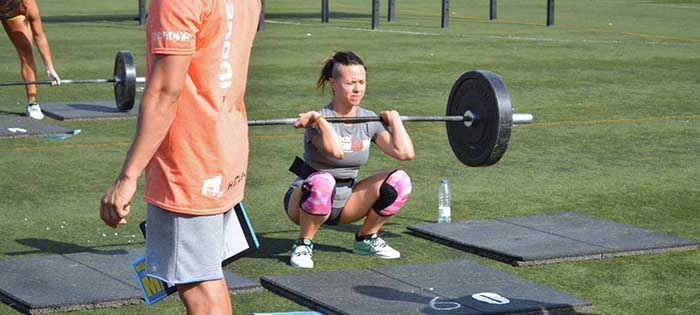 xfire crossfit games anabel cleans