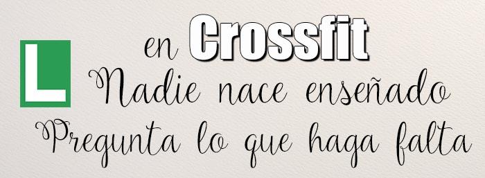 entrenamiento principiantes crossfit