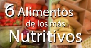 alimentos más nutritivos