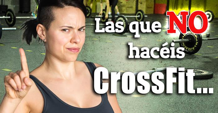 el crossfit es para mujeres