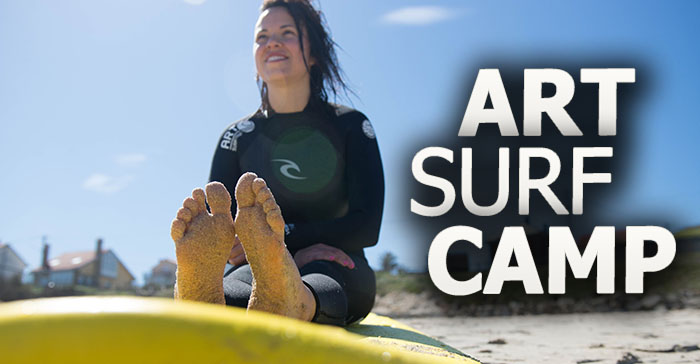 art surf camp