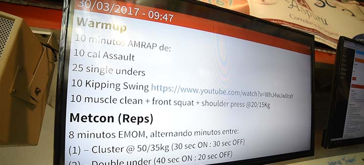 crosshero software para box de Crossfit