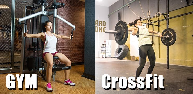 hacer gimnasio o crossfit