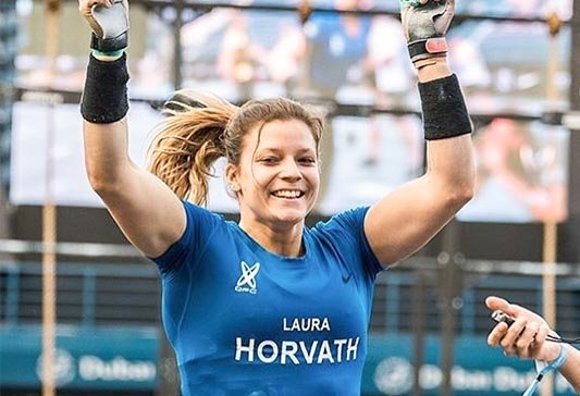 crossfit games 2018 laura horvath