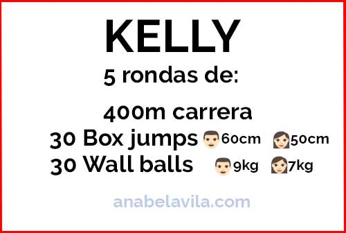 kelly wod crossfit