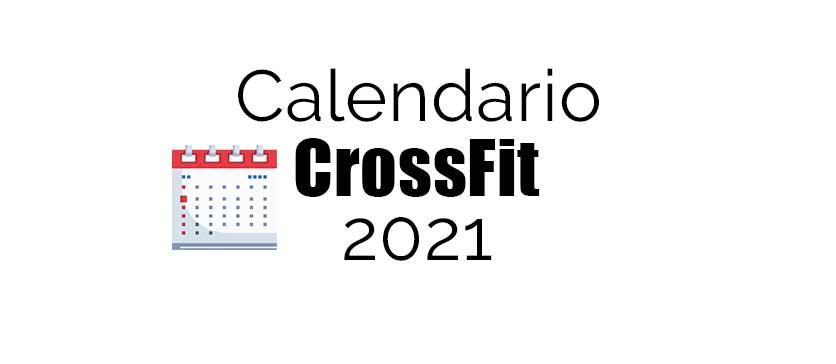 calendario 2021 crossfit