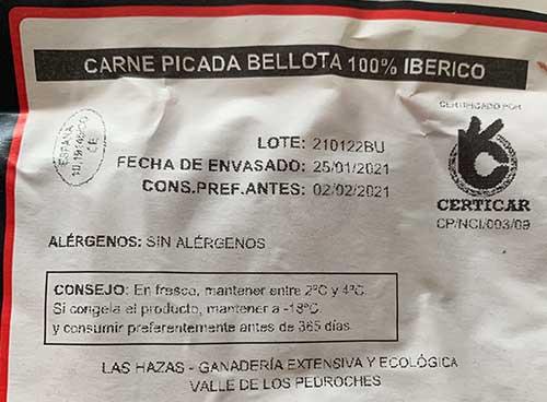 carne club del iberico