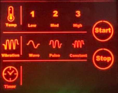 cinturon calor lumbar